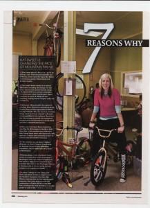 Bike Magazine, 7 Reasons Why, July 2010
