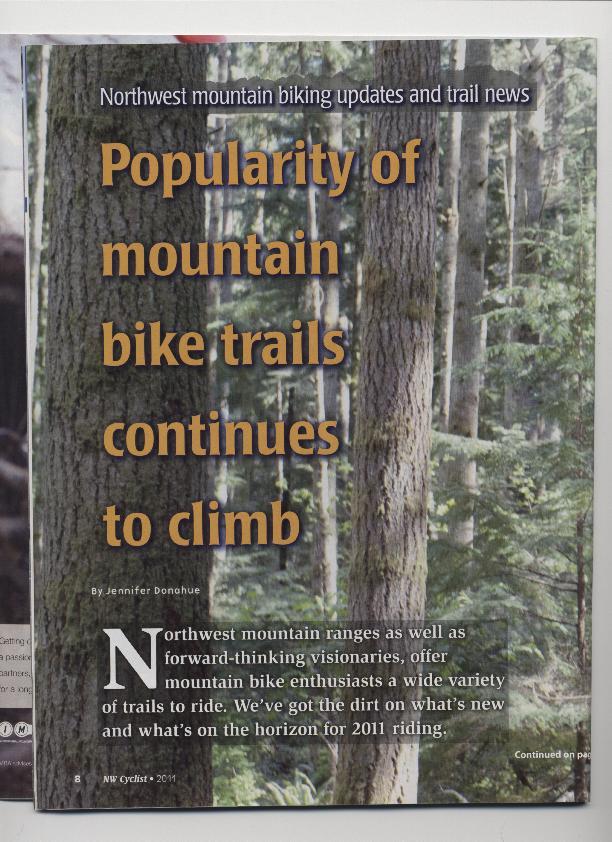 Northwest Cyclist 2011