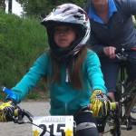 Kayla - youngest rider