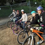 The coaches getting some pre-event play time on the pump track! (pic by Meg Valliant)